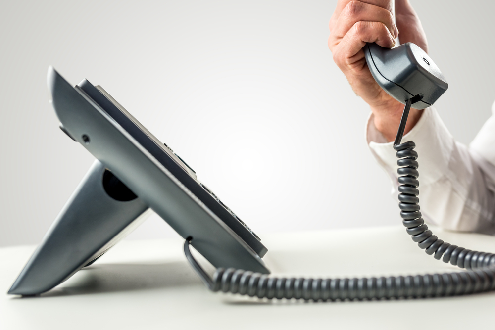install a telephone system for business