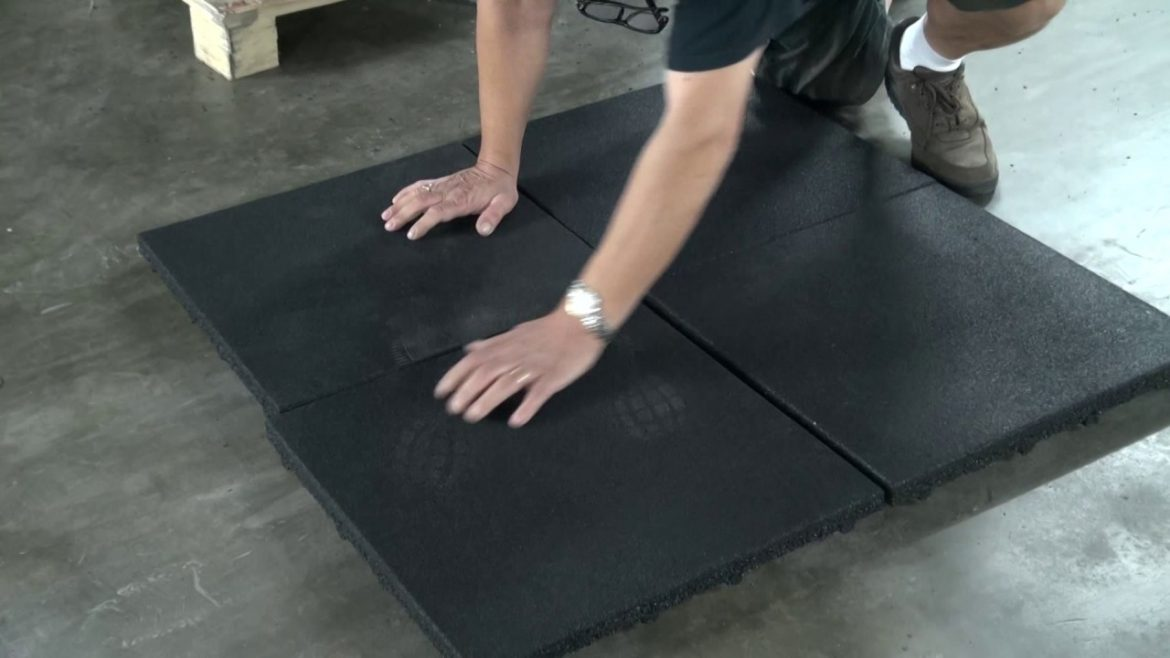 rubber gym flooring.
